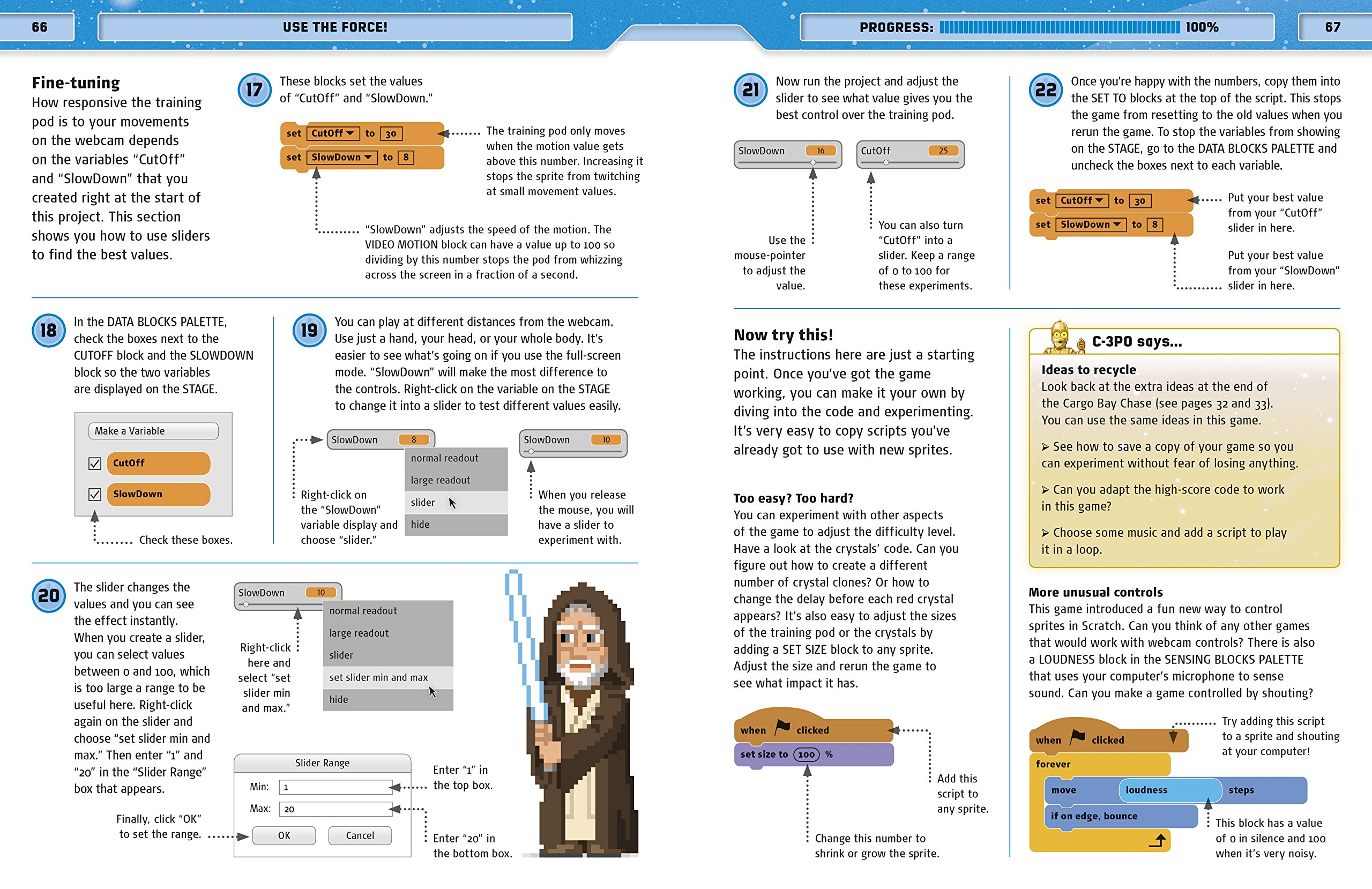 Star Wars Coding Projects: A Step-by-Step Visual Guide to