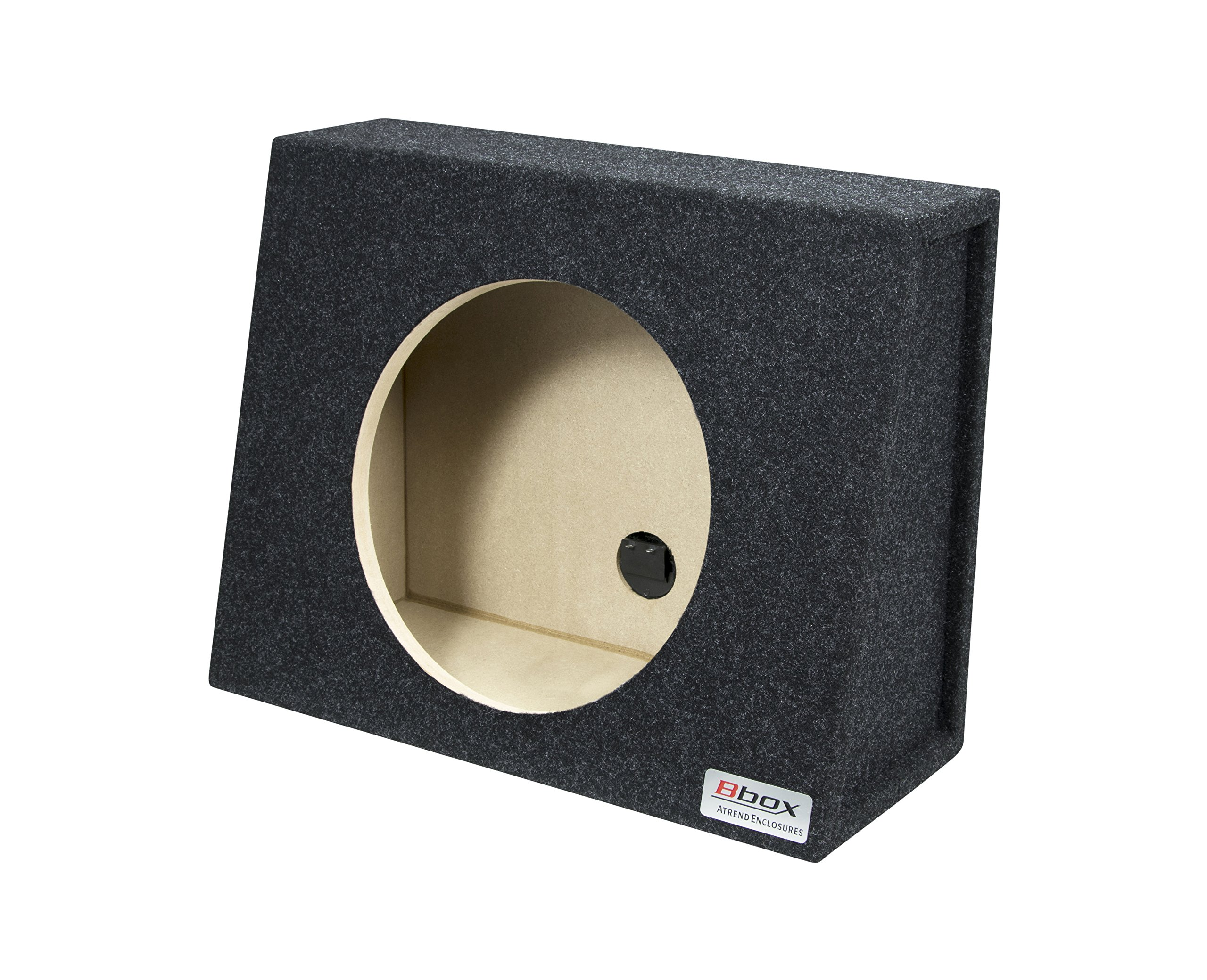 Bbox E12ST Single 12'' Sealed Carpeted Truck Subwoofer Enclosure