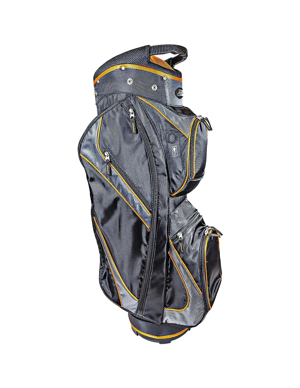 Club Champデラックスカートゴルフバッグ  ブラック/オレンジ B073KNXW3V