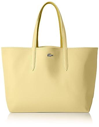 5059761061 Amazon.com: Lacoste Anna Shopping Bag, NF2142AA, Pale Banana Yolk ...