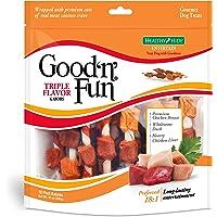 Good'N'Fun Triple Flavored Rawhide Kabobs for Dogs