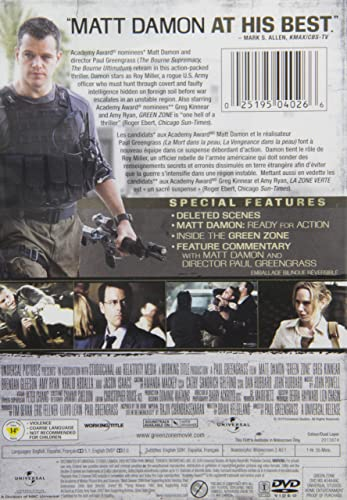 Amazon.com: Green Zone: Matt Damon, Jason Isaacs, Amy Ryan ...