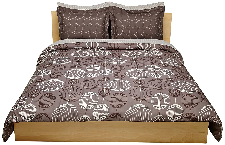 Pinzon 7-Piece Bed In A Bag - Full/Queen, Industrial Vintage Grey