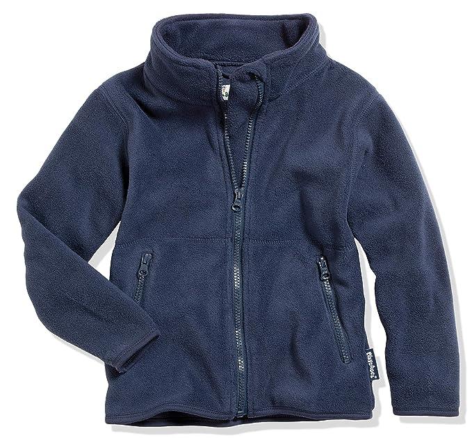 atmungsaktives und hochwertiges J/äckchen mit Rei/ßverschluss Schnizler Kinder-Jacke aus Fleece