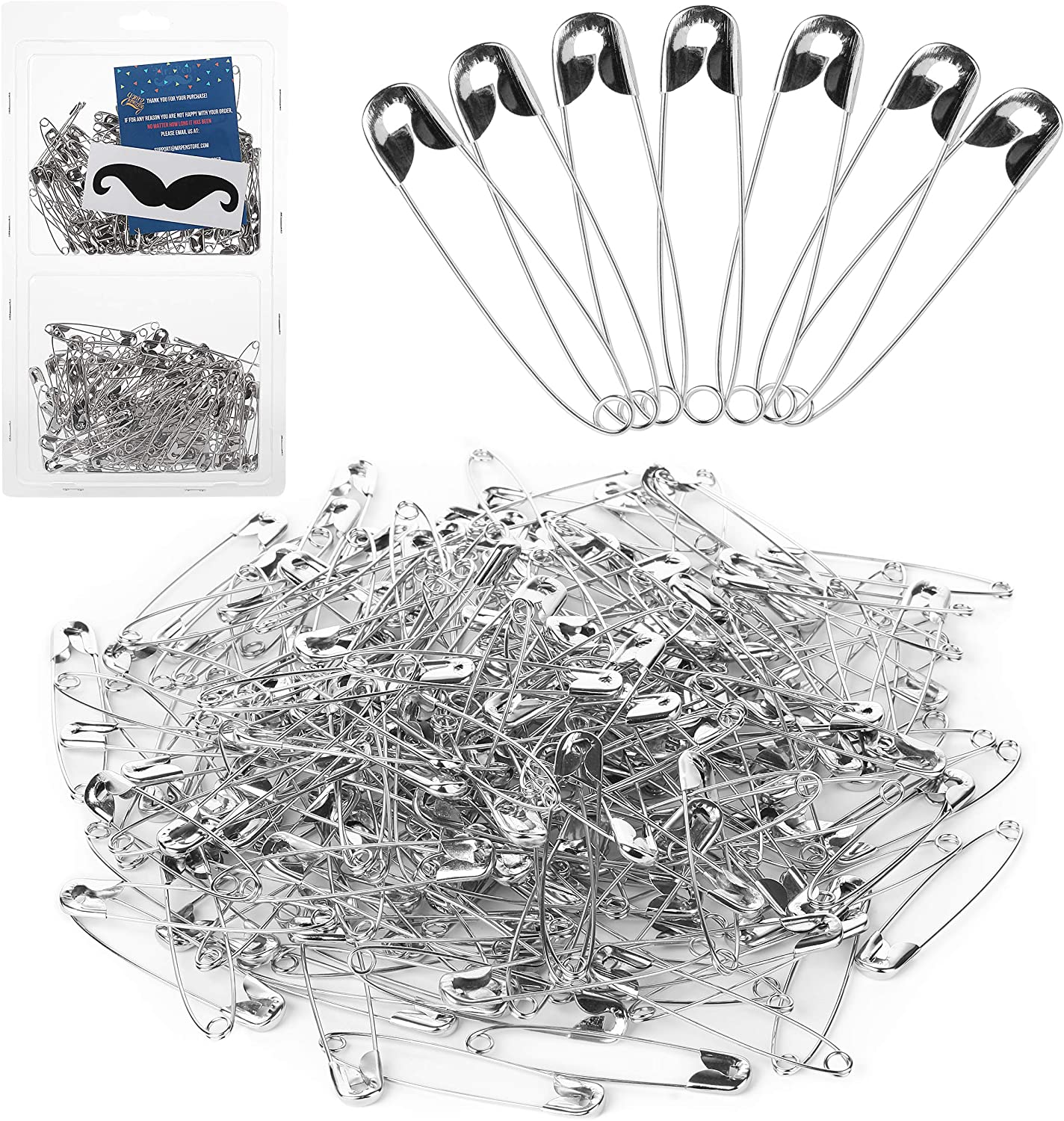 100 Safety Pinlarge safety pin safety pin 5cm long100 safety pins safety pin 100
