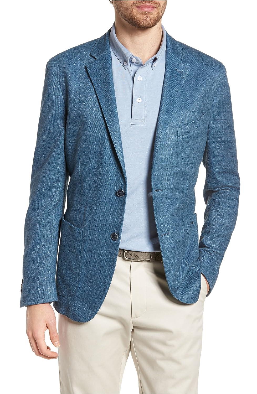 [フライント] メンズ ジャケットブルゾン FLYNT Trim Fit Heathered Jersey Blazer [並行輸入品] B07DW4VZSJ Regular-44R