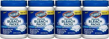 Clorox Control Bleach Packs, Regular, 48 Count