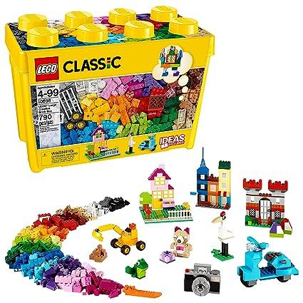 8617847b5ccf06 Amazon.com  LEGO Classic Large Creative Brick Box 10698 Build Your Own  Creative Toys