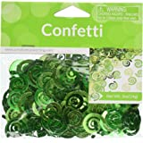 Creative Converting Fresh Lime Swirls Confetti, Fresh Lime