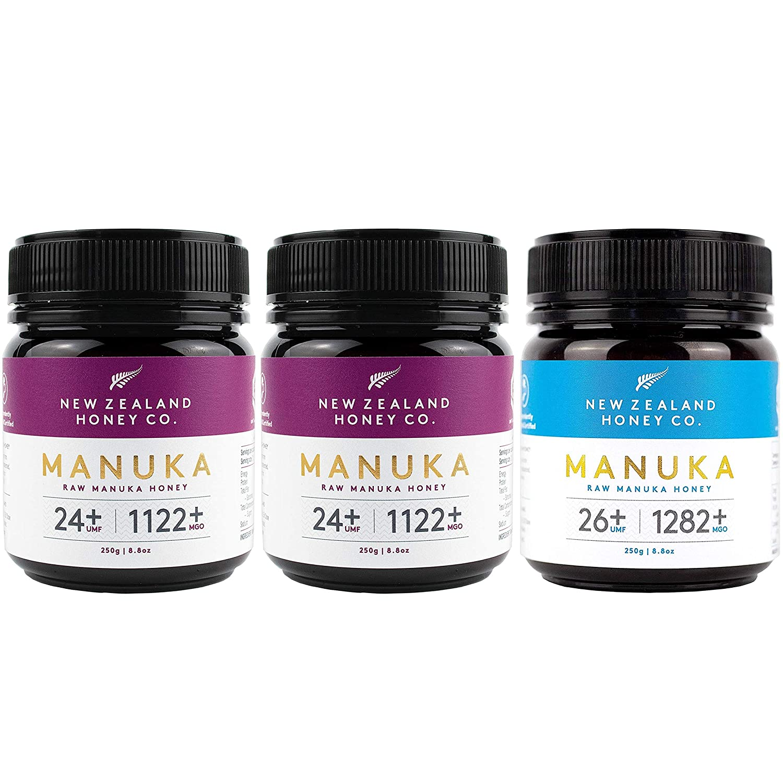 Raw Manuka Honey Bundle - New Zealand Honey Co. UMF 24+ / UMF 26+