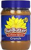 SunButter Natural Crunchy Sunflower Seed Spread, 16 oz