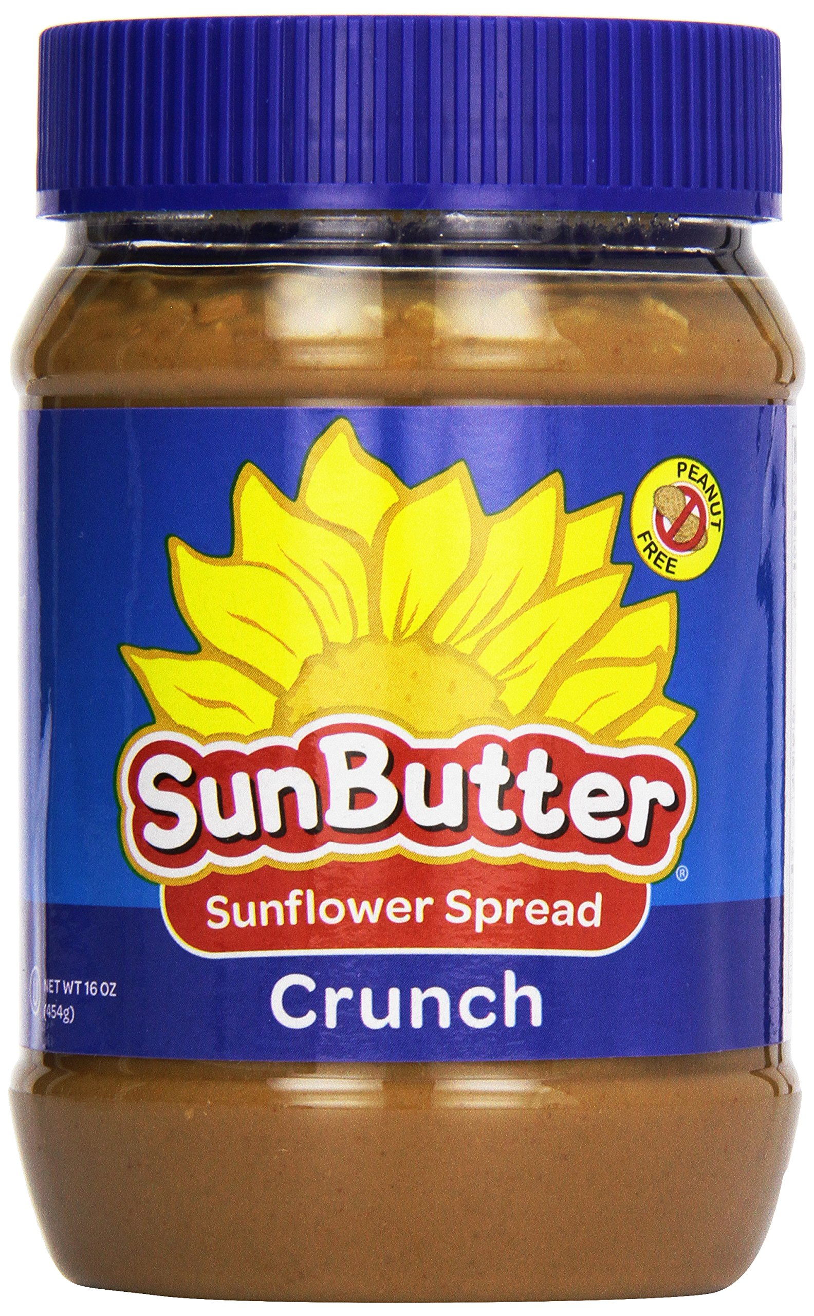 Sunbutter Natural Crunch Sunbutter, 16 oz