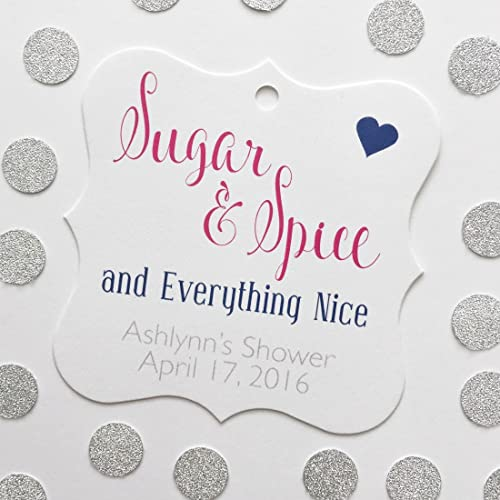Amazon Sugar And Spice And Everything Nice Baby Shower Favor
