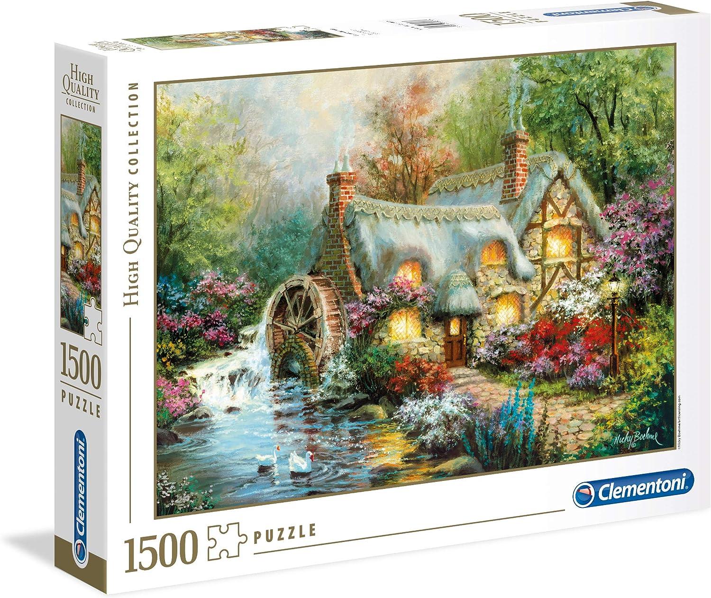 Clementoni- Puzzle 1500 Piezas Country Retreat (31812.4)