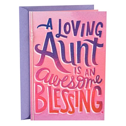 Amazon hallmark mahogany mothers day greeting card for aunt hallmark mahogany mothers day greeting card for aunt awesome blessing m4hsunfo