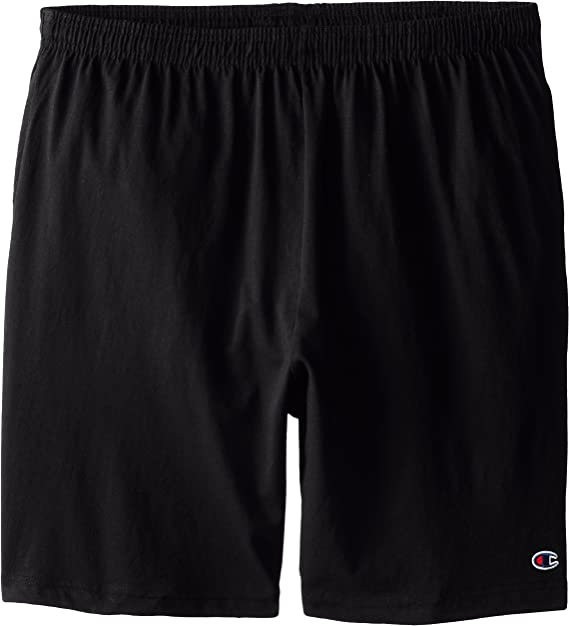 Champion Mens Big and Tall Jersey Athletic Drawstring Shorts All Over Print