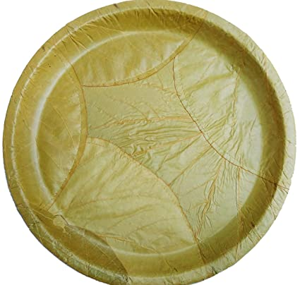 Well known Buy Stiched Leaf Plates Bio-degradable 12 inch - Pack of 25 Online  FE89