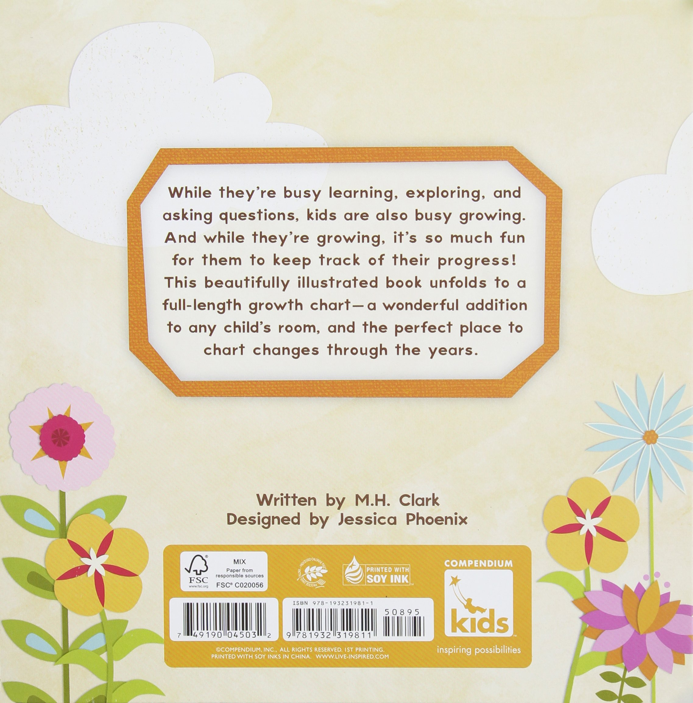 I can inspiring childs board book and growth chart mh clark i can inspiring childs board book and growth chart mh clark jessica phoenix 9781932319811 amazon books nvjuhfo Choice Image
