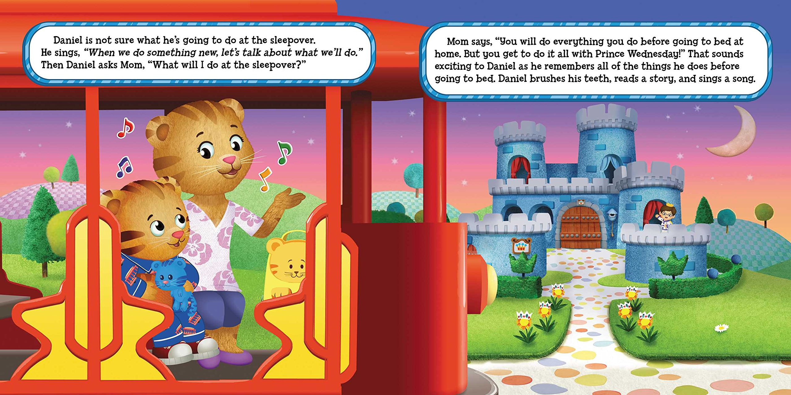 Daniel's First Sleepover (daniel Tiger's Neighborhood): Angela C  Santomero, Jason Fruchter: 9781481428934: Amazon: Books