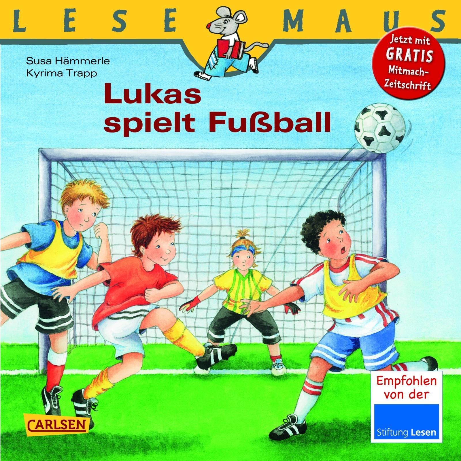 LESEMAUS, Band 41: Lukas spielt Fußball