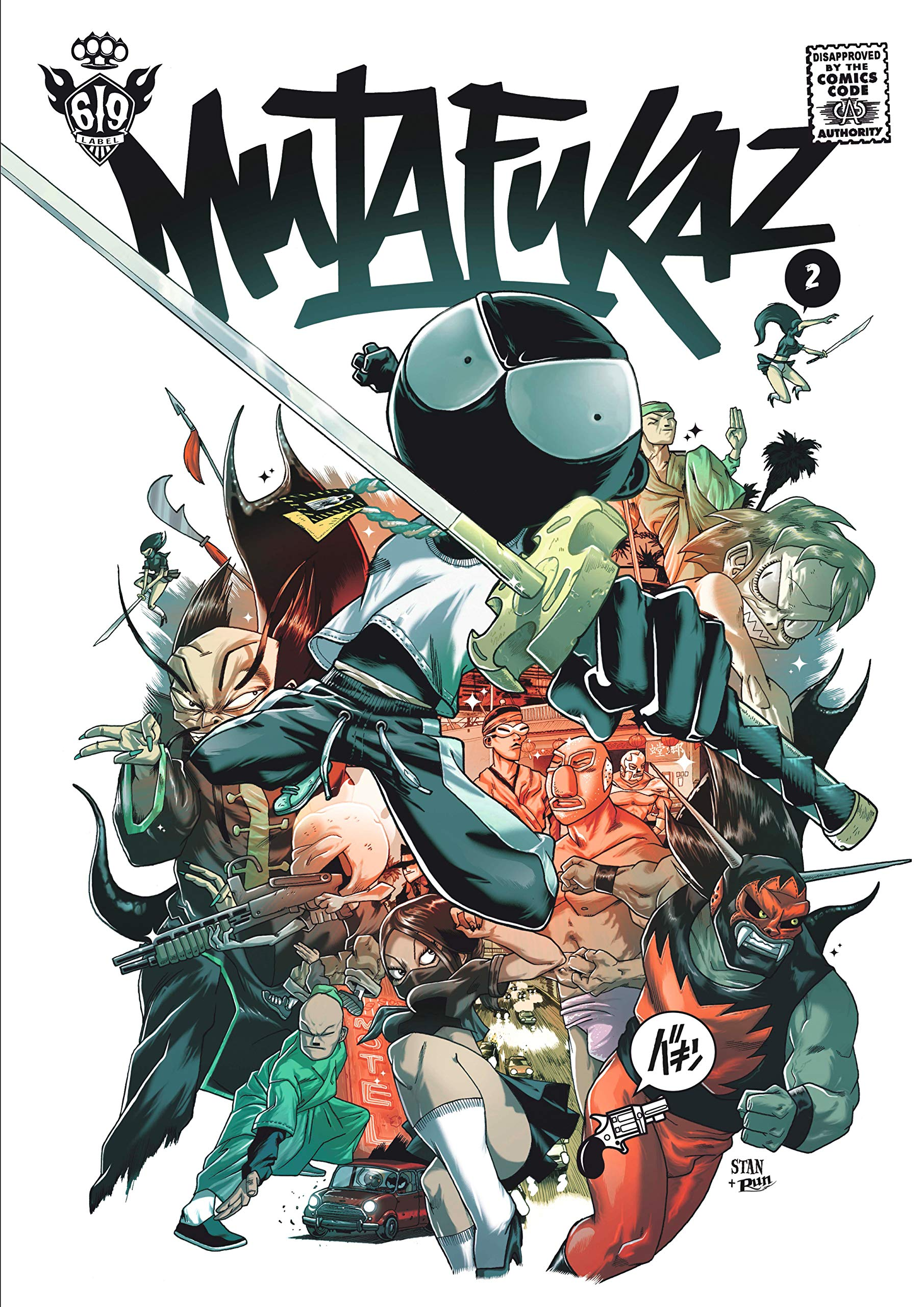 Mutafukaz T02 Troublants Trous Noirs Mutafukaz 2 French Edition Run 9782916739038 Amazon Com Books