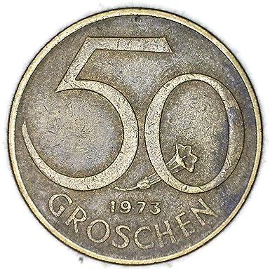 1969 Austria 50 Schillings Maximillian Brilliant Uncirculated Silver Coin