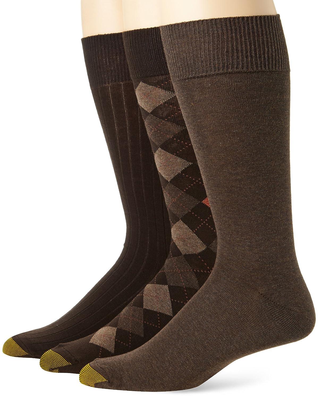 4d121c5c3ecd Gold Toe Men's Classic Argyle 3 Pack at Amazon Men's Clothing store: Casual  Socks
