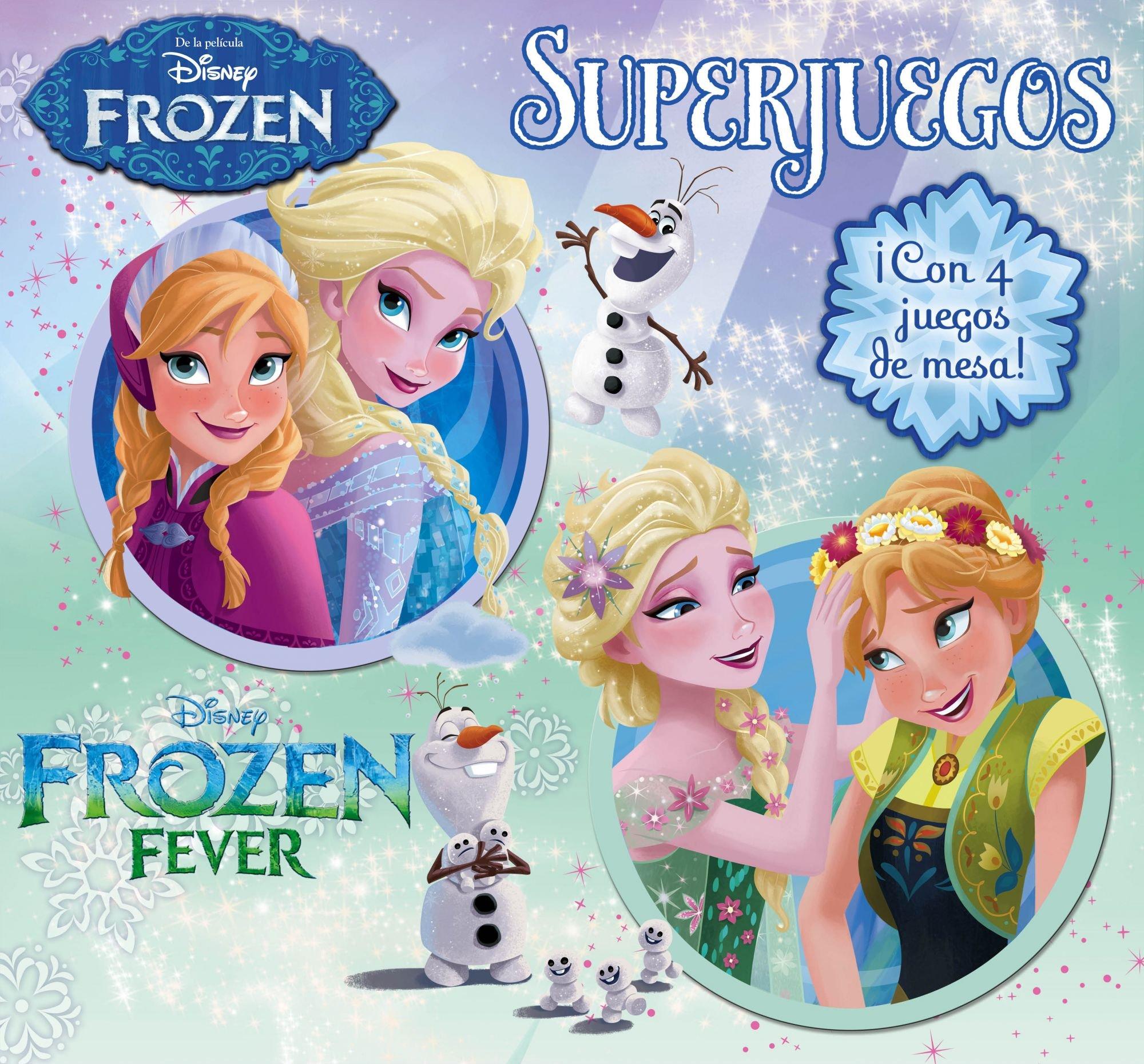 Frozen. Superjuegos: ¡Con 4 juegos de mesa! Disney. Frozen: Amazon ...