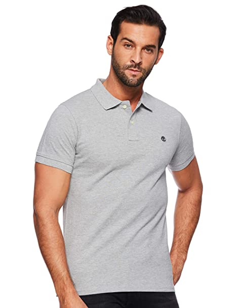 Timberland Mens SMU Ss Pique Polo Shirt