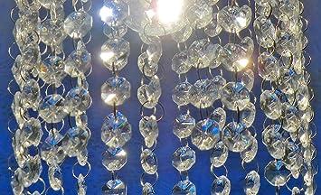 Kronleuchter Glaskristalle ~ Stücke von octagon transparent kronleuchter tropfen wahl von