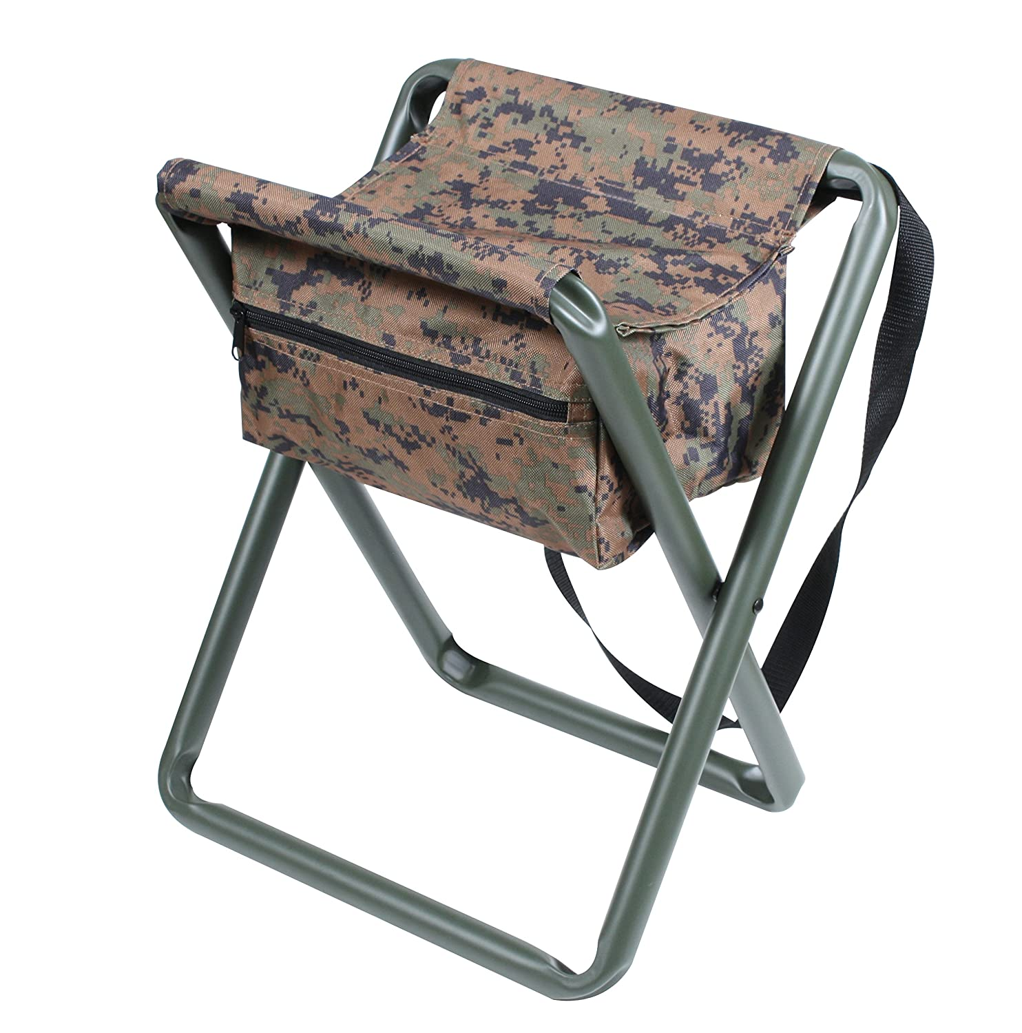 Amazon Rothco Deluxe Stool with Pouch ACU Digital Camo