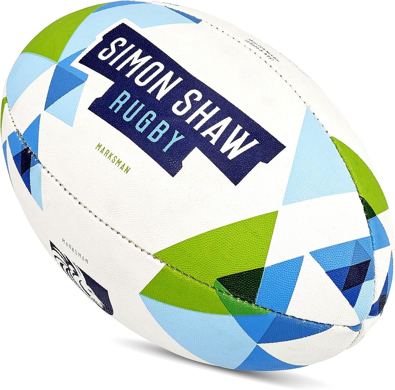 Simon Shaw Rugby - Pelotas de Rugby (tamaño 3): Amazon.es ...