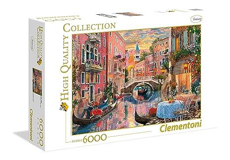 Clementoni 36524 Venecia al Atardecer – HQC Puzzle, 6000 Piezas