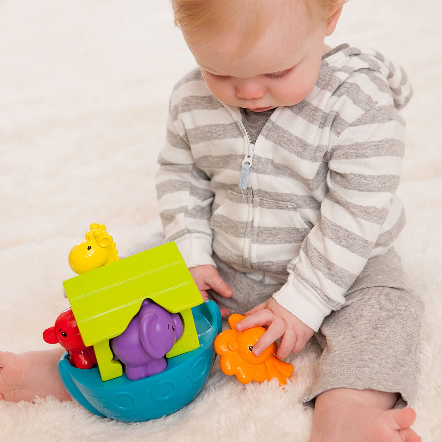 206-709Z Chewy Ark Infantino Baby Toy Discontinued by Manufacturer