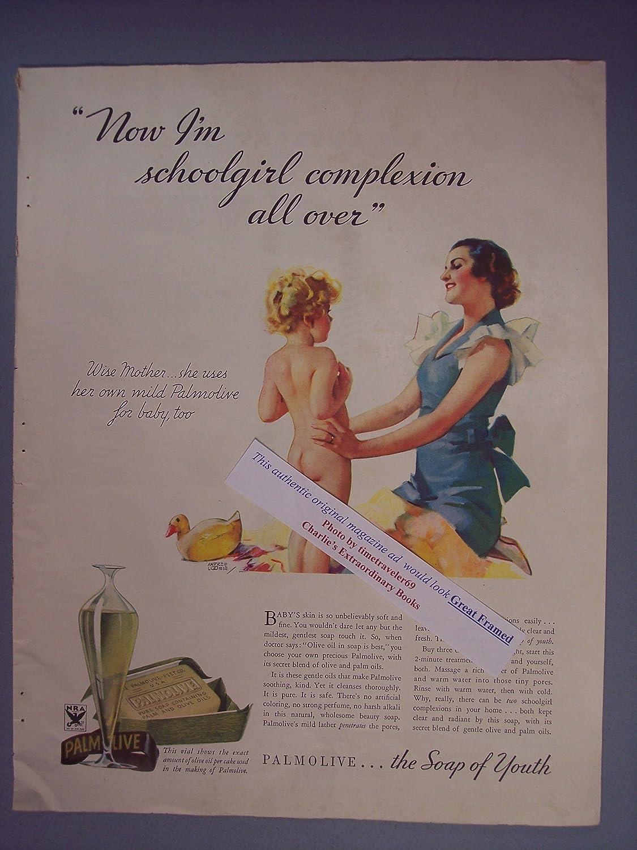 Amazon.com: Palmolive soap, nude girl, now I'm schoolgirl complexion ...