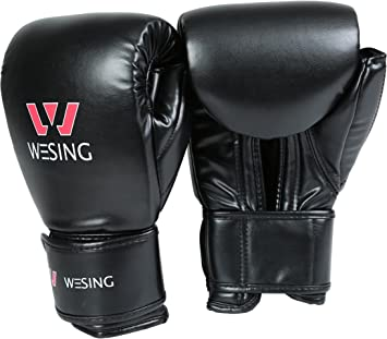 Wesing  MMA Combat Fight Gloves Boxing Gloves  Boxing Mitts