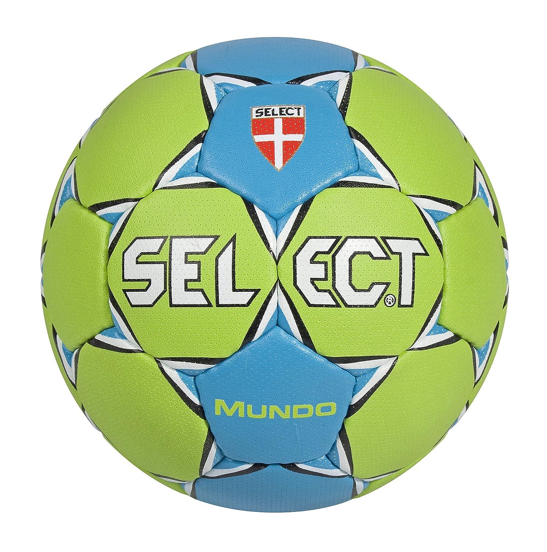 Select Trainingsball Mundo - Pelota de Balonmano, Color Verde/Azul ...