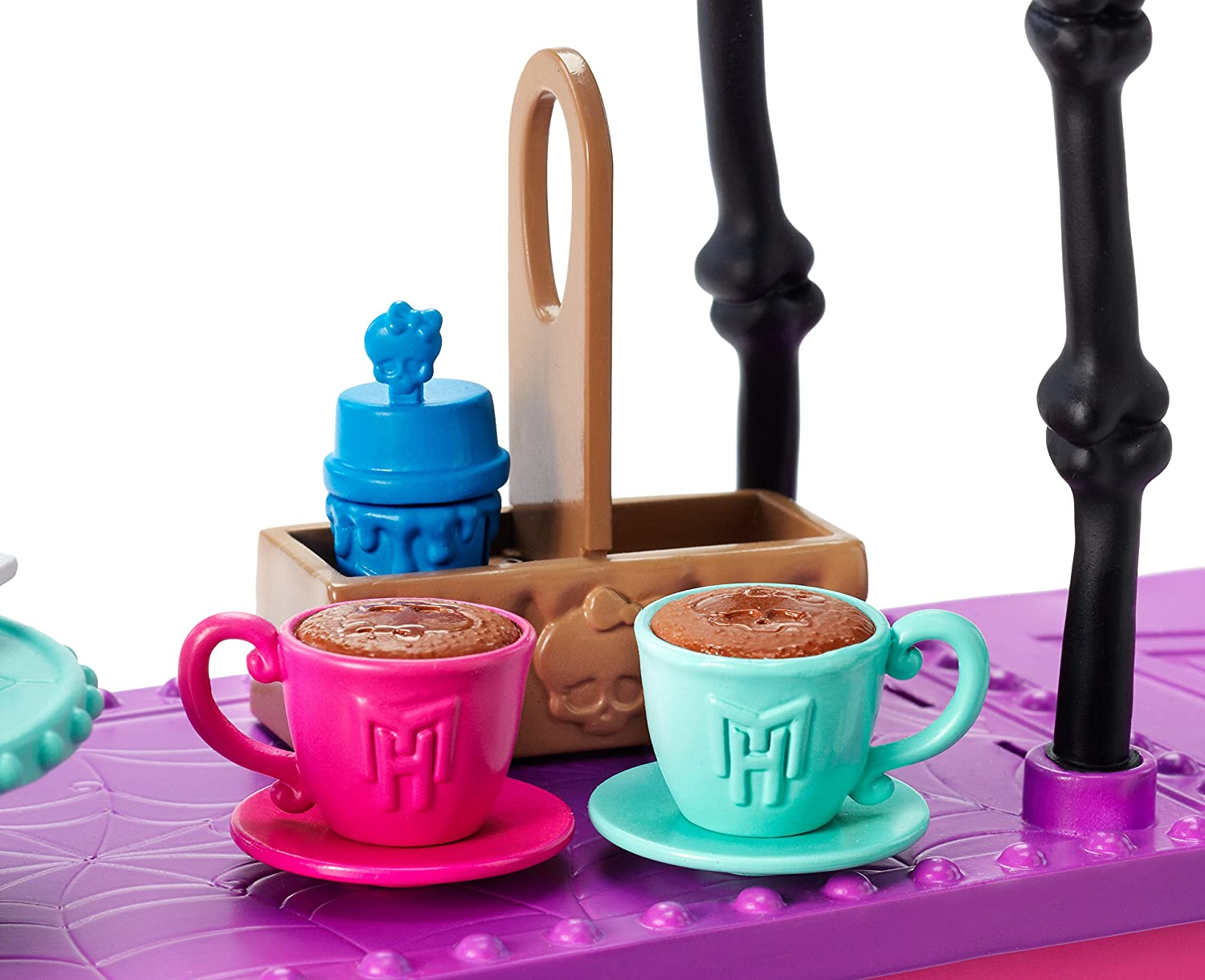 Amazon.es: Mattel DNX01 Toy - Monster High - Fright Roast Coffee Deluxe Fashion Doll Cafe Playset: Juguetes y juegos