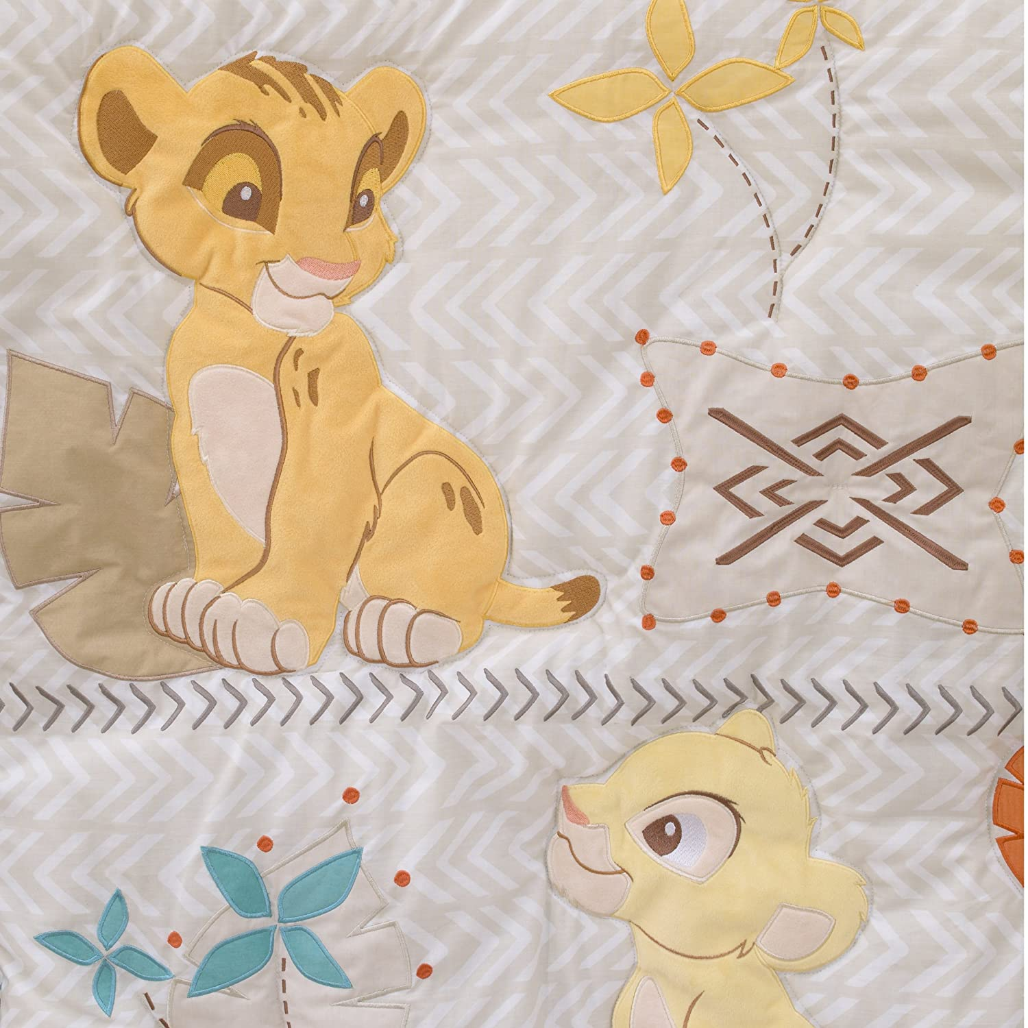 Disney Baby Lion King Cirle of Life Double Sided Velboa Baby Blanket