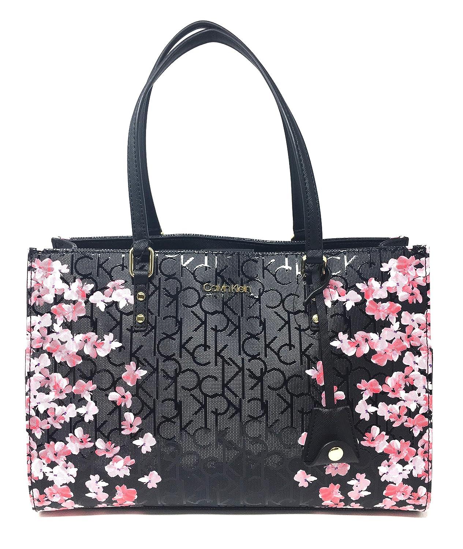 Klein Handle Bag Calvin Top H7ddj6yqBlackfloralHandbags TJlKc1uF3