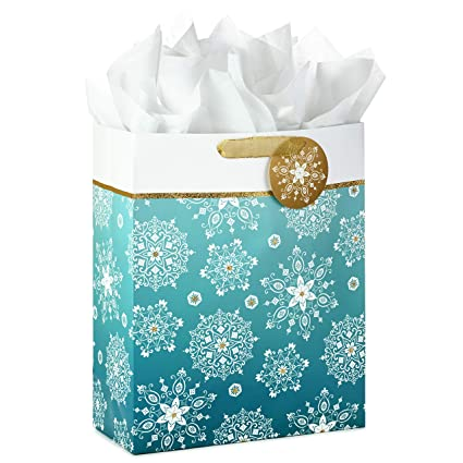 Image Unavailable  sc 1 st  Amazon.com & Amazon.com: Hallmark Extra Large Holiday Gift Bag with Tissue Paper ...
