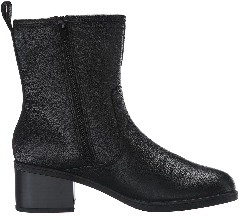 CLARKS Women's 9.5 Nevella Devon Boot B019JTFVDS 9.5 Women's B(M) US|Black Leather d582c0