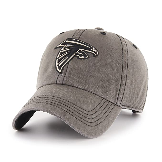 new product 83889 ca9c5 Amazon.com   NFL Atlanta Falcons Deck Hand OTS Challenger Adjustable Hat,  Charcoal, One Size   Clothing