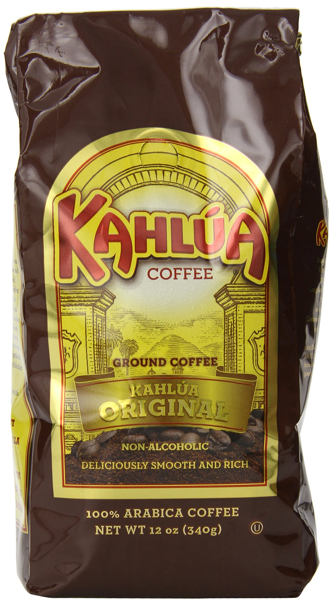 Kahlua Gourmet Ground Coffee, Original, 12 Ounce by White House Coffee