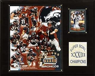 product image for NFL Broncos Super Bowl XXXIII Champions Plaque
