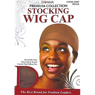 100 Value-Pack Premium-Collection Wig Caps (Multi-Pack) Beige