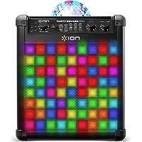 ION Audio Party Rocker Max - 100W draagbare draadloze Bluetooth luidspreker en karaoke centrum met oplaadbare batterij…