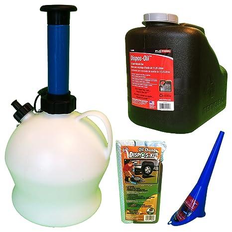 Cambio de aceite kit Bundle | 1 gal - Bomba extractora de ...