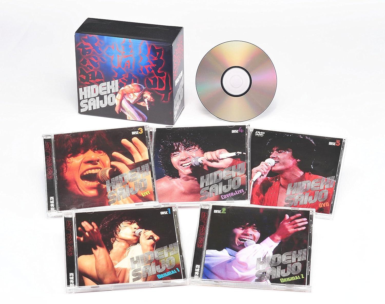 絶叫情熱感激/西城 秀樹 CD4枚+DVD1枚                                                                                                                                                                                                                                                    <span class=