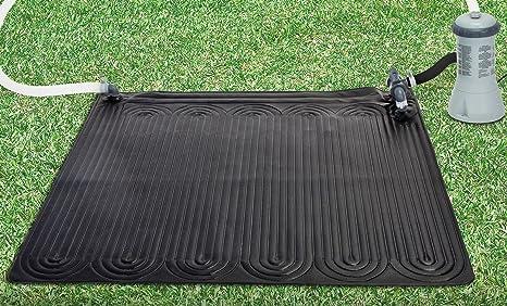 Intex Solar alfombrilla por encima del suelo piscina ...